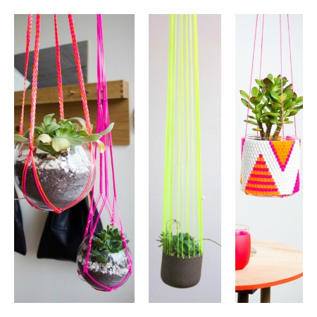 colourful planters for indoors